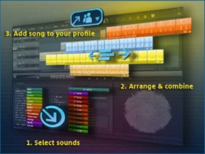 MAGIX Music Maker for MySpace screenshot